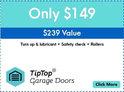 Tip Top Garage Doors Repair Raleigh - Coupon - Only $149