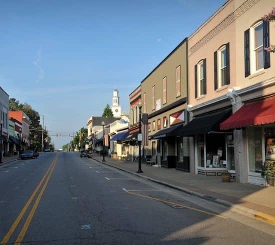 Tip Top Garage Doors Raleigh - Apex Garage Door Repair - Downtown Apex, NC